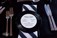 Such a cool idea: record place settings!