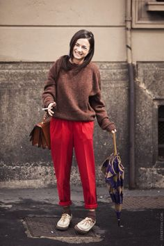 street fashion - woman / via STREETFSN
