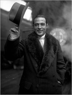 Rudolph Valentino c. 1925 in Chicago, Illinois