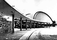 Aeropuerto de Acapulco, Guerrero, México 1955    Arqs. Mario Pani y Enrique del Moral    Fotos  Guillermo Zamora -    Airport of Acapulco, Guerrero, Mexico 1955