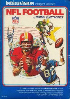 Intellivision Football, loved this game. Still have it. Just nowhere to plug it in. :(