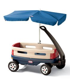 Look what I found on #zulily! Little Tikes Umbrella Explorer Wagon by Little Tikes #zulilyfinds