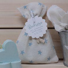 Saquito estrellas azul jabones Comunión Baby Favors, Deco Table, Communion, Baby Shoes, Projects To Try, Soap, Scrapbook, Shower, Kids