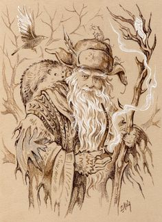 "Radagast by Candra.deviantart.com on @deviantART - From ""The Hobbit"""