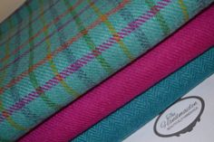 HARRIS TWEED FABRIC 100% pure virgin wool with authenticity