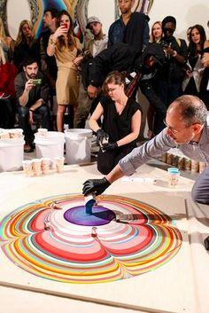 Le kaleidoscope d'Holton Rower pour Dior