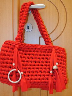 idea for crochet bag