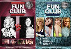 Fun Club - flyer digitais
