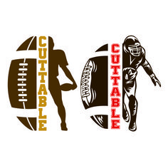 Football Players Sports Frame Cuttable Design SVG PNG DXF & eps Designs Cameo File Silhouette - Welcome to our website, We hope you are satisfied with the content we offer. Football Tshirt Designs, Football Mom Shirts, Free Football, Sports Shirts, Football Mom Quotes, Football Moms, Football Crafts, Football Gear, Silhouette Sport