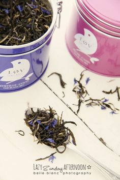 BELLE BLANC: Lazy Sunday Afternoon... Lov Organic white tea