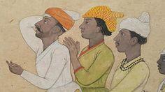 Raja Balwant Singh's singers by Nainsukh