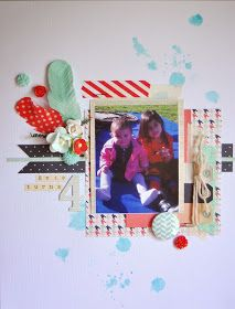 Kaitlynne Roil 8.5x11 created for the Scrapbook Store Sketch