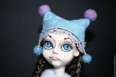 Купить Варвара-краса - голубой, новый год 2015, подарок на новый год, кукла ручной работы