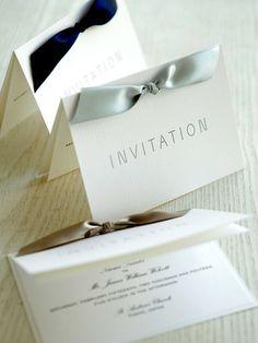 リボンのカラーでイメージをチェンジ! Wedding Name Cards, Wedding Invitation Cards, Thank You Card Design, Thank You Cards, Wedding Paper, Diy Wedding, Graduation Cupcakes, 70th Anniversary, Wedding Seating