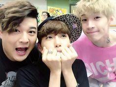 Shin Dong-hee, Kim Ryeowook & Henry Lau (Super Junior)