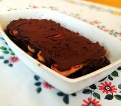 Pavê de chocolate - muito simples de fazer