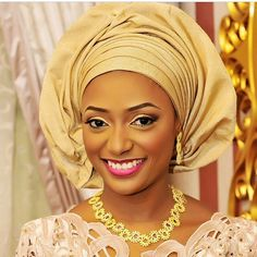 Traditional Nigerian Bride