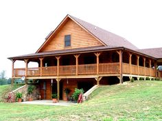 32 Wonderful Farmhouse House Plans Ideas With Wrap Around Porch. If you are looking for Farmhouse House Plans Ideas With Wrap Around Porch, You come to the right place. Below are the Farmhouse House . Basement House, Garage House, Rustic Basement, Walkout Basement, Log Cabin Homes, Log Cabins, Mountain Cabins, Log Home Floor Plans, Log Home Decorating