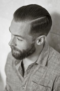 The Slickback Mens Hair Styles