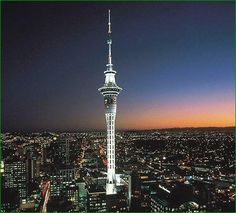 The Sky Tower is an observation and telecommunications tower located on the corner of Victoria and Federal Streets in the Auckland CBD, Auckland City, New Zealand.