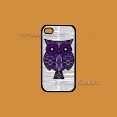 iphone 4 Case iPhone 4s case Dictionary Art Purple by KrezyCases, $14.95