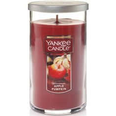 Yankee Candle Harvest Pillar (900 RUB) ❤ liked on Polyvore featuring home, home decor, candles & candleholders, apple pumpkin, scented pillar candles, apple scented candles, pumpkin candle, yankee candle and apple home decor