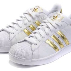 Adidas Superstar Gold | Shoes | Pinterest | Superstar, Adidas e Oro ❤ liked on…