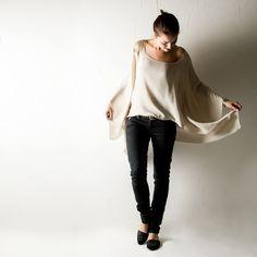 Oversized top Silk top Silk blouse Silk shirt Kaftan by larimeloom