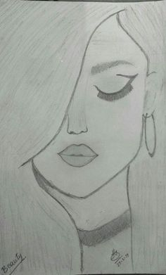 You know it kinda looks like selena gomez amazing drawings, easy drawings, cute drawings Easy Pencil Drawings, Easy Drawings Sketches, Cool Art Drawings, Beautiful Drawings, Drawing Ideas, Simple Sketches, Disney Drawings, Drawing Tips, Pencil Drawing Tutorials