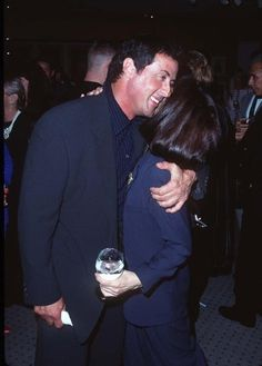 "Sylvester Stallone and Talia Shire at an event for ""Rocky"""