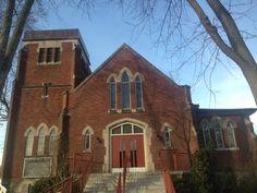 Stamford United Church,   3855 St. Peter Street (at St. John Street), Niagara Falls, ON