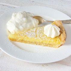 Frasig & krämig citronpaj – Lindas Bakskola