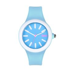 Unisex Arc Watch Pale Blue now featured on Fab.