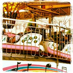 The Music Machine.  This is one of my favorite rides at the carnival