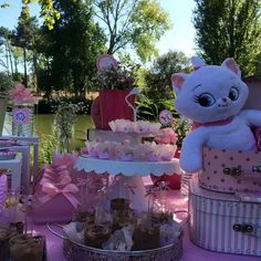Adorable Aristocats birthday party! See more party ideas at CatchMyParty.com!