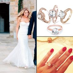 if lauren conrad can pull of a rose gold wedding ring so can you - Lauren Conrad Wedding Ring