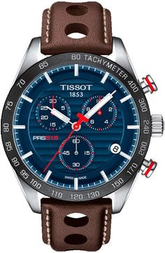 @tissot Watch PRS516 Chronograph #add-content #basel-17 #bezel-fixed #bracelet-strap-leather #brand-tissot #case-depth-12mm #case-material-steel #case-width-42mm #chronograph-yes #date-yes #delivery-timescale-call-us #dial-colour-blue #gender-mens #luxury #movement-quartz-battery #new-product-yes #official-stockist-for-tissot-watches #packaging-tissot-watch-packaging #style-dress #subcat-prs516 #supplier-model-no-t1004171604100 #warranty-tissot-official-2-year-guarantee #water-resistant-100m