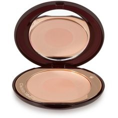Charlotte Tilbury Cheek to Chic Swish & Pop Blusher - First Love (160 BRL) ❤ liked on Polyvore featuring beauty products, makeup, cheek makeup, blush, beauty, faces and pink