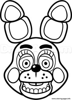 Freddy Coloring Pages Golden Sketch Coloring Page  Birthday
