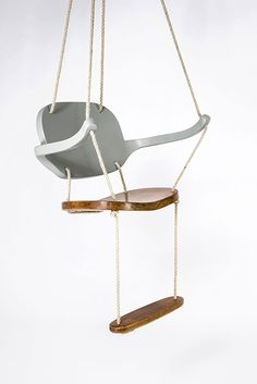 The Swing Chair was shown for the first time this month in in Turin during the WABI SABI show. The Swing Chair comes from Antonio's Aricò research on characters and personalities generally hidden in products. The Swing Chair brings indoor a Indoor Swing, Hammock Swing, Turin, Office Chairs Online, Art Diy, Swinging Chair, Diy Chair, Cool Chairs, Chair Covers