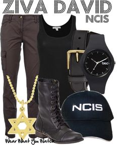 Inspired by Cote de Pablo as Ziva David on NCIS. Want the pants and shirt