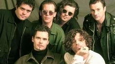 """INXS (pronounced """"in excess"""", in-ex-ESS) is an Australian rock band, formed as The Farriss Brothers in 1977 in Sydney, New South Wales. http://www.jinglejanglejungle.net/2015/01/inxs.html #INXS"""