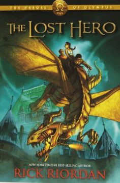 The Lost Hero (Heroes of Olympus, Book 1) by Rick Riordan http://www.amazon.com/dp/1423113462/ref=cm_sw_r_pi_dp_wvKOtb1VC3H9TQ52