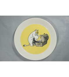 The Plate is in mint condition. The Plate is The Plate will be packed with care when shipping. Moomin, Mint, Plates, Licence Plates, Dishes, Griddles, Dish, Peppermint, Plate