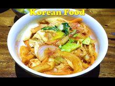 Korean food in Cambodia, Asian Street Food, Fast Food in Asia #057