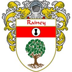 Rainey Coat of Arms   namegameshop.com has a wide variety of products with your surname with your coat of arms/family crest, flags and national symbols from England, Ireland, Scotland and Wale