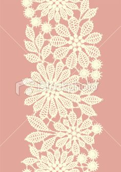 Pastel colored lace vertical seamless pattern Royalty Free Stock Vector Art Illustration