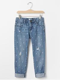 GapKids x ED bolt boy fit jeans