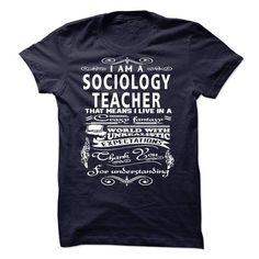 I am a Sociology Teacher T Shirts, Hoodies, Sweatshirts. CHECK PRICE ==► https://www.sunfrog.com/LifeStyle/I-am-a-Sociology-Teacher-18762995-Guys.html?41382