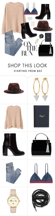 """""""On the run baby"""" by antojulia ❤ liked on Polyvore featuring rag & bone, I+I, MANGO, Lanvin, Forever 21, Topshop, Mix Nouveau, Anja, LoveStories and Kate Spade"""